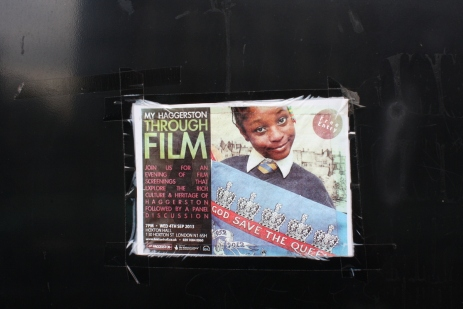 Flyer posted in the playground.