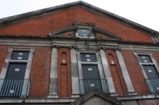 Haggerston Baths, which have been long closed. The building was supposed to re-open as a community pool but hasn't due to lack of funding.