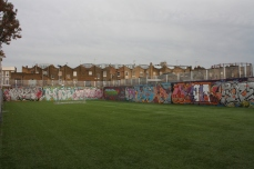A football field off Pownall Road.