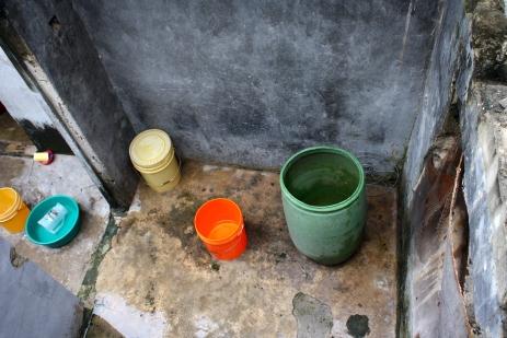 Water basins, Vingunguti